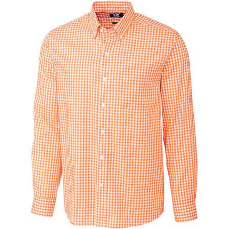 Mcw00133 Buck Cutter Shirt L Herren S Orange League amp; Gingham 5r5wfqxE