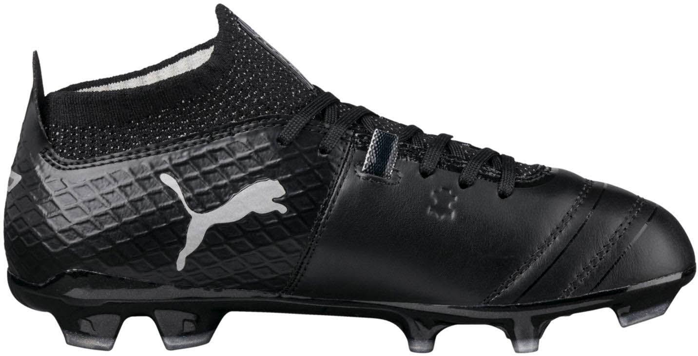 Black One Black Silver puma 4 Puma Kid's 17 Soccer Cleat Fg 1 p50Axqv