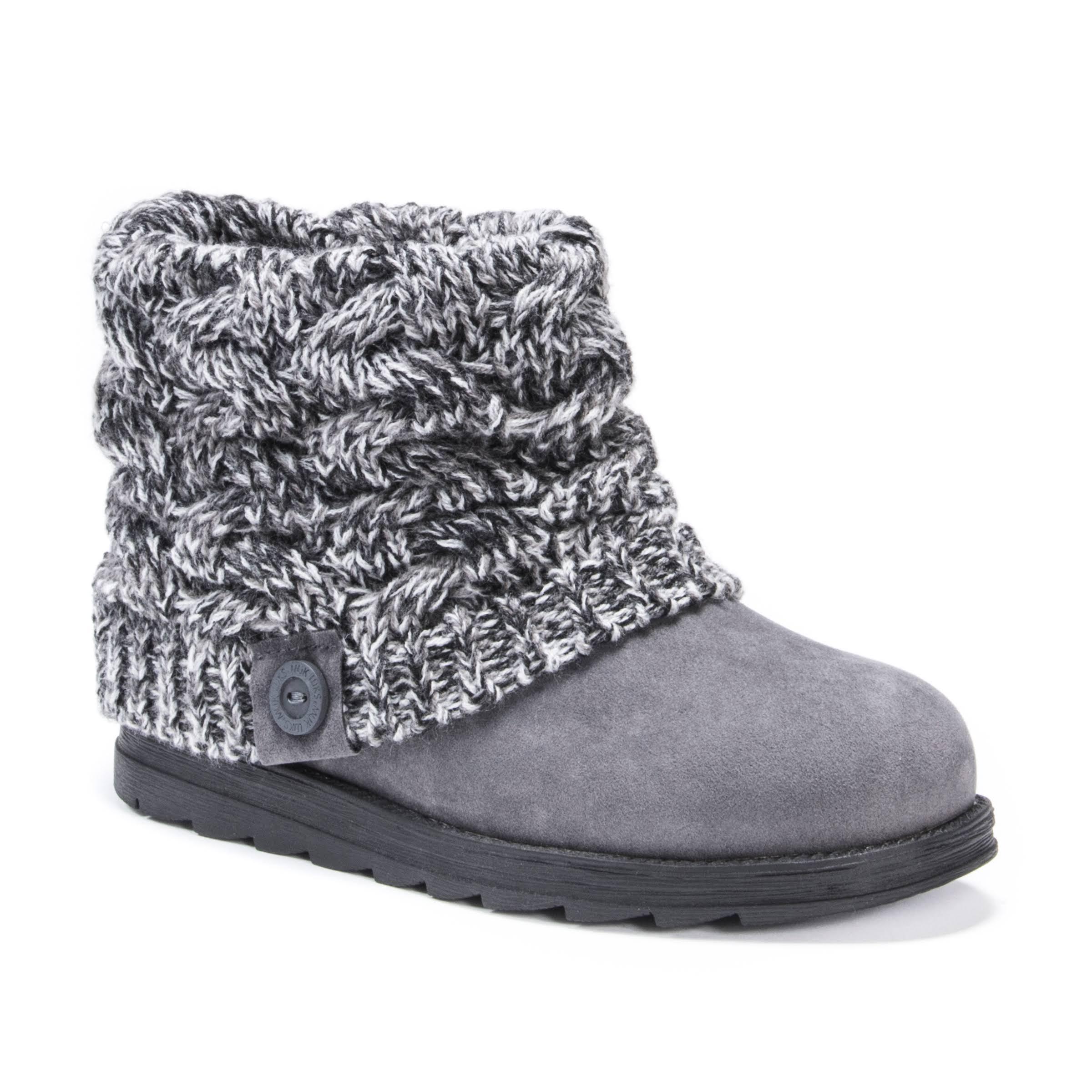Boot Cuff Knit Patti Black Short Muk Luks qRnZHCwaav