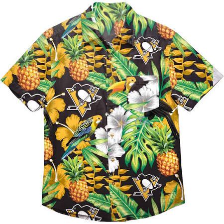 Penguins Hombre Para Y Botones Con De Pittsburgh Los Nhl Camisa YP6wqpx