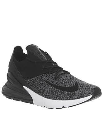 white Size Black 9 black black Max Men's Flyknit Air 270 Nike Shoe nS6xwOwv4