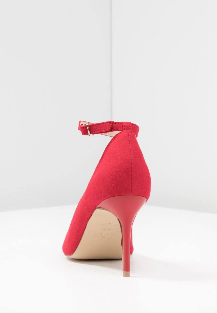 Simmik Look BrightDamesMaat5RoodTextiel New Heels High 80wmNvnO