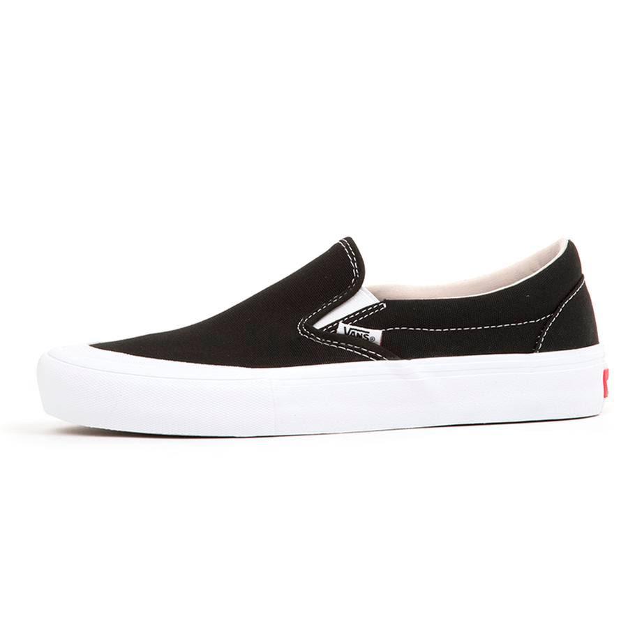 Cap De On Pro Zapatos Toe Vans Slip Negro Skate a7xRgI7