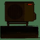 184722 Varmepumpe L/l Bosch Compress 5000 Ehp 5,0 Aa - Kun 6609,25 DKK
