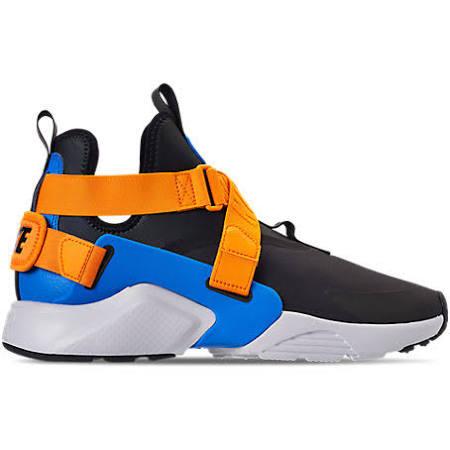 Women's Air Shoes City 7 Huarache 0 Size Casual Blue Nike Pf7dqwBxP