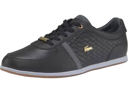 Lacoste 1 dames Sneakers Zwart 318 Sport Lage Rey gqrgT1