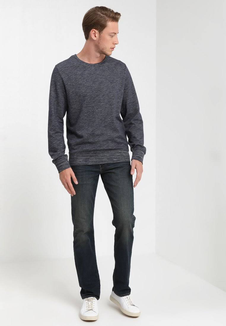 Denim Jeans Tamaño 30 514 Azul X Hombre Recta Pierna 34 Marino Marino De Levi's TqX5xHq