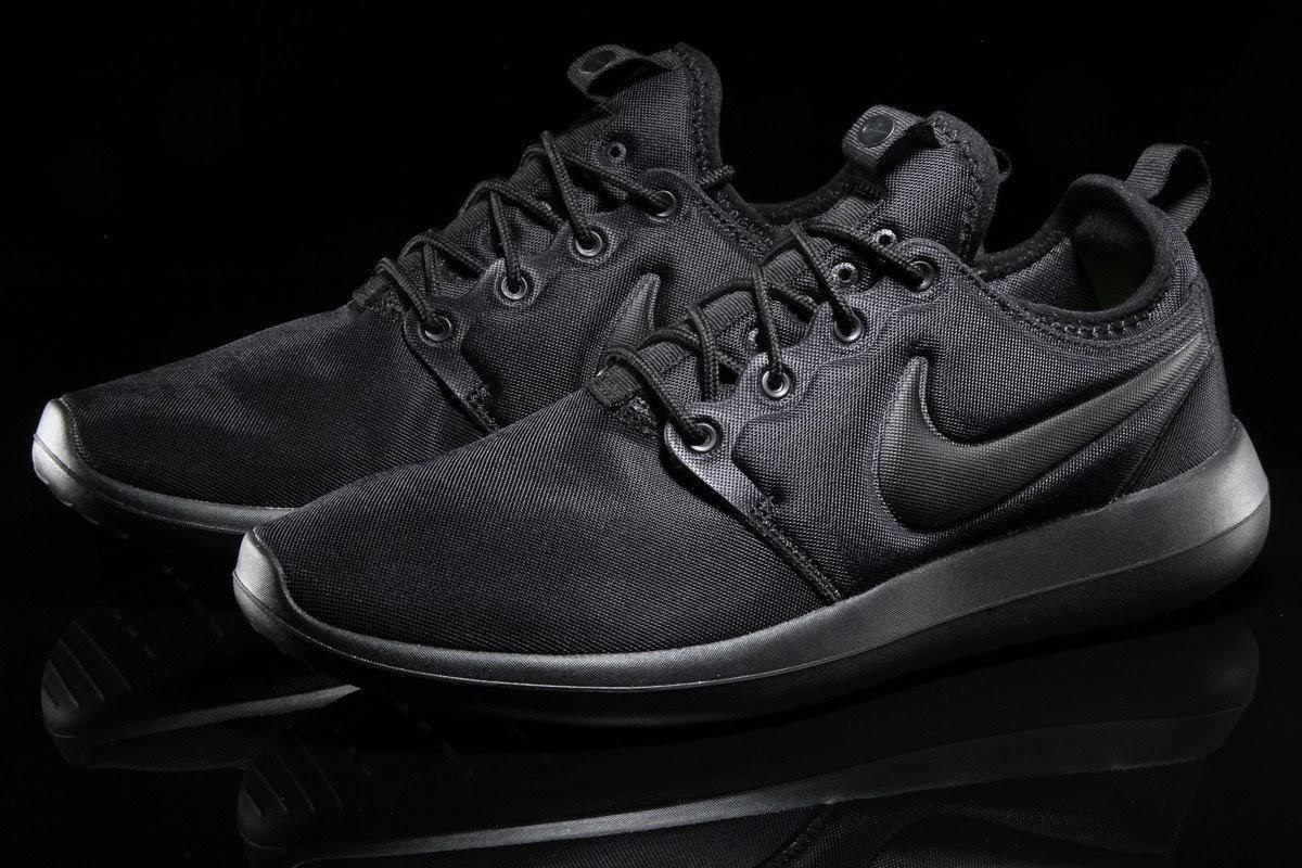 001 Sz Roshe 10us Nike Schwarz 844656 Two Black TY7qAxn