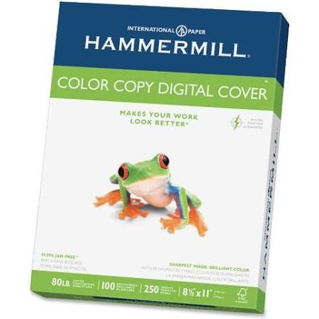 Hammermill 8 Color 11 Digital Cover Lb Paper 5 Copy 80 X SrqgSn