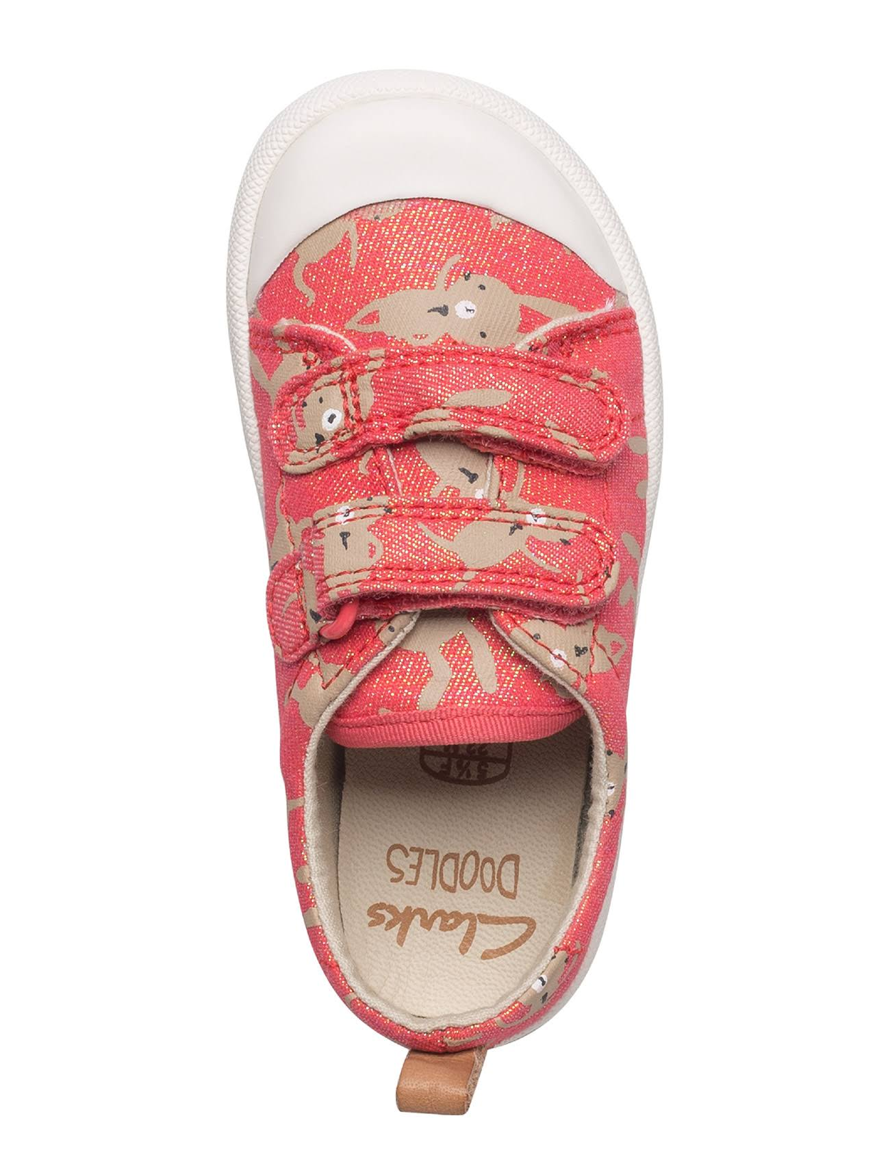 Corallo Clarks Rosso Unisex Halcy Hati Sneaker Bambini deBroQCxW