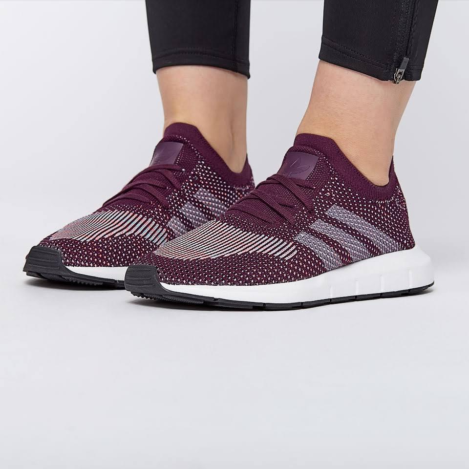 adidas Originals Womens Swift Run Pk Red Night