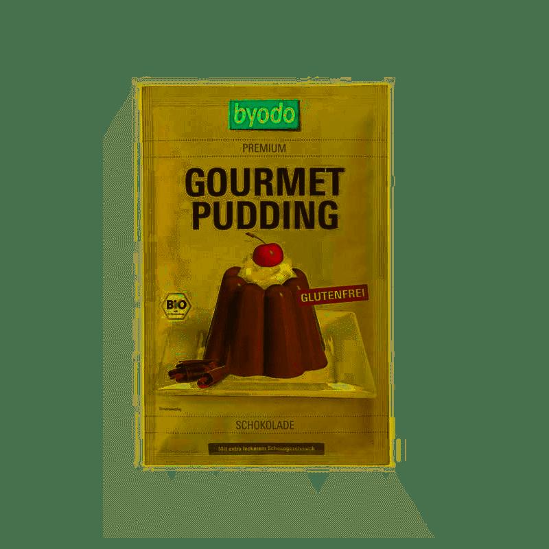 Pudding instant bezglutenowy BIO BYODO