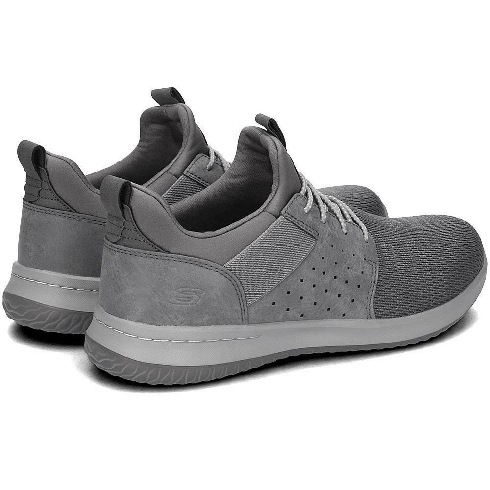 Grigio Camben Med SneakerUomo Skechers Delson exdCBo