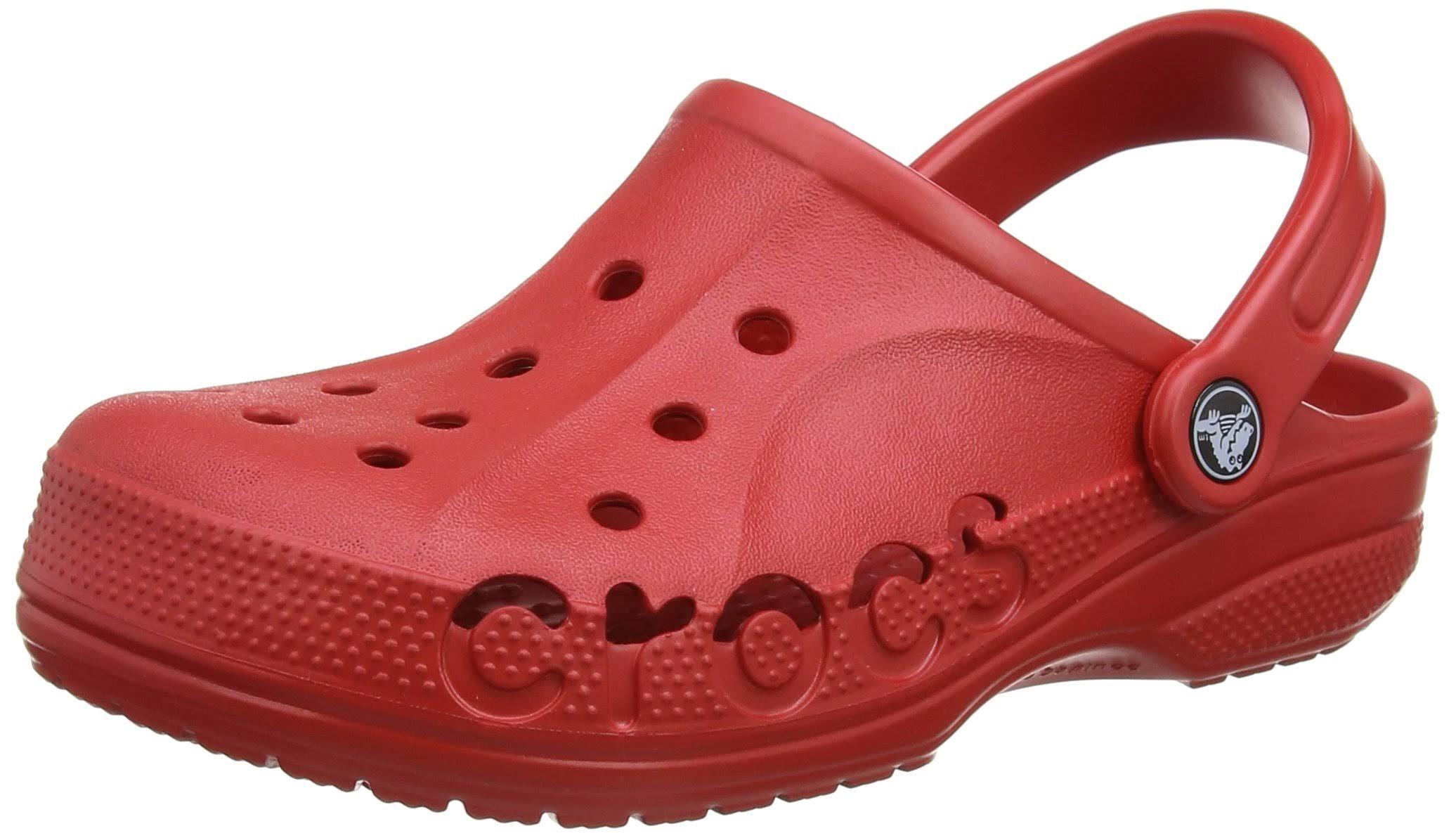 Baya Baya Red Red Crocs W9m7 Clogdimensioni Crocs F3K1c5ulJT