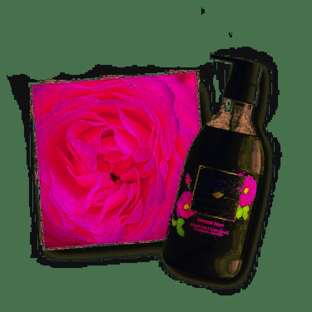 Dove Body Wash Botanical Selection Damask Rose Pump 500 Japan
