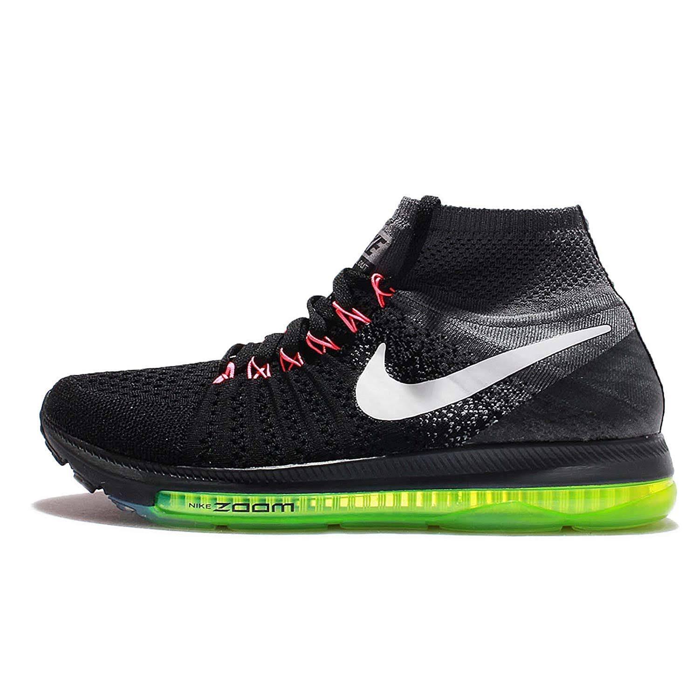 Negro Flyknit 845361 Nike Blanco Gris Out All 002 De Running Air 7 Fresco Zapatillas Zoom q8PS0fw