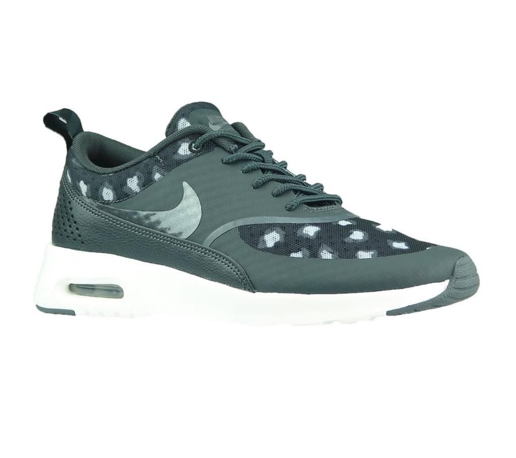 Sneaker 38 Thea Damen Weiß Air Nike Max Print Größenauswahl 008 Grau Schwarz 599408 wzqXEEg