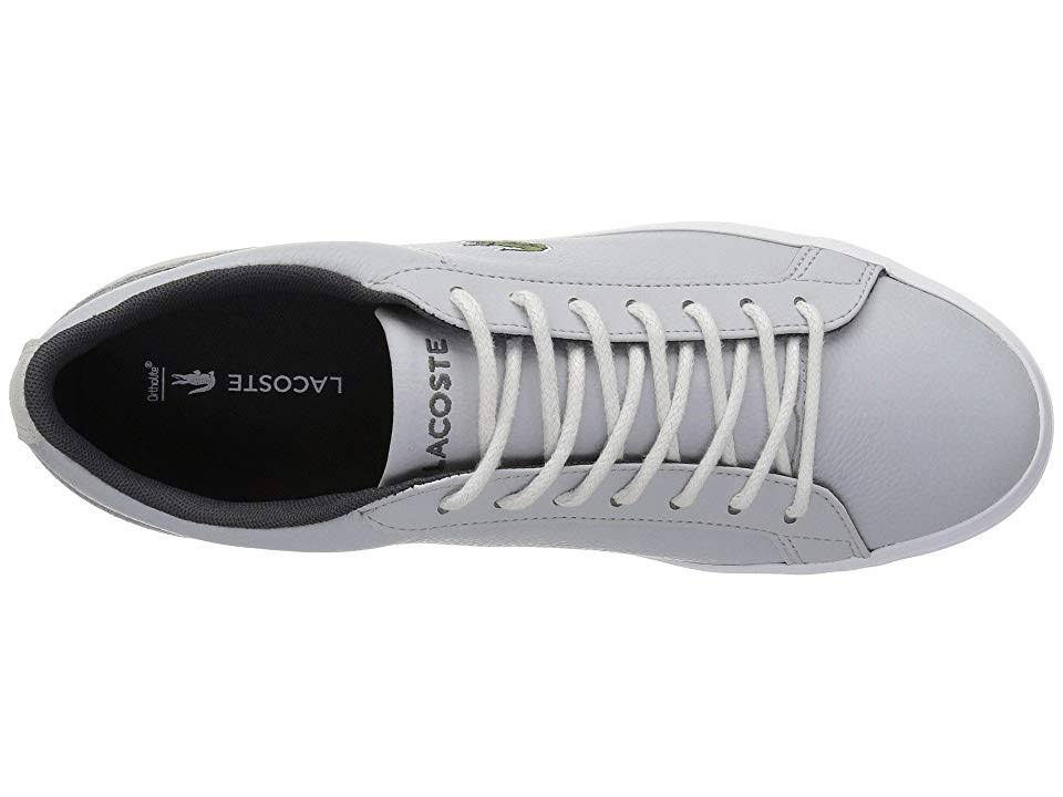 7 Light Grey Lacoste Men's Lerond 3 Shoes M 318 dark Grey wUzqazZx