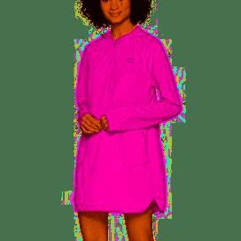 Speedo Women's Coverup Hoodie Dress, Very Fuchsia, Medium