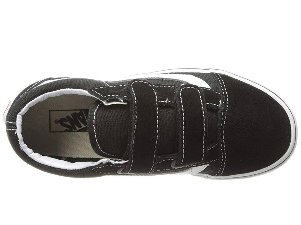 Kids 4 Old Verdadero negro V Vans Blanco Negro Skool 0 pdx750w