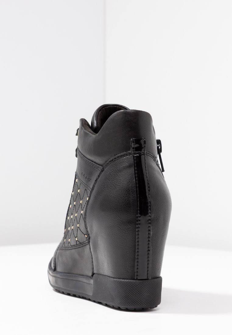 In Pelle Geox Carum Color Black Taglia Scarpe 3 QxBdoreCW