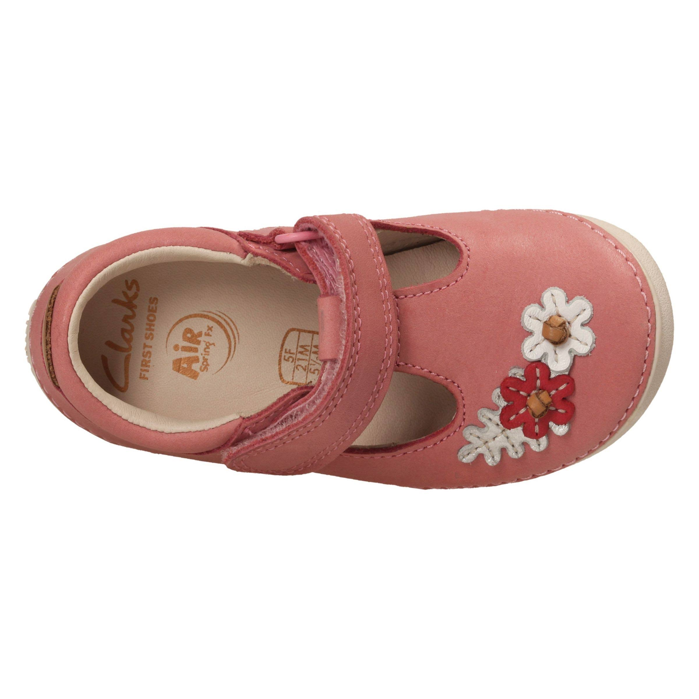 Pink Lea Clarks 26133633baby Baby Leather Lea Blossom Softly WdxorBeC