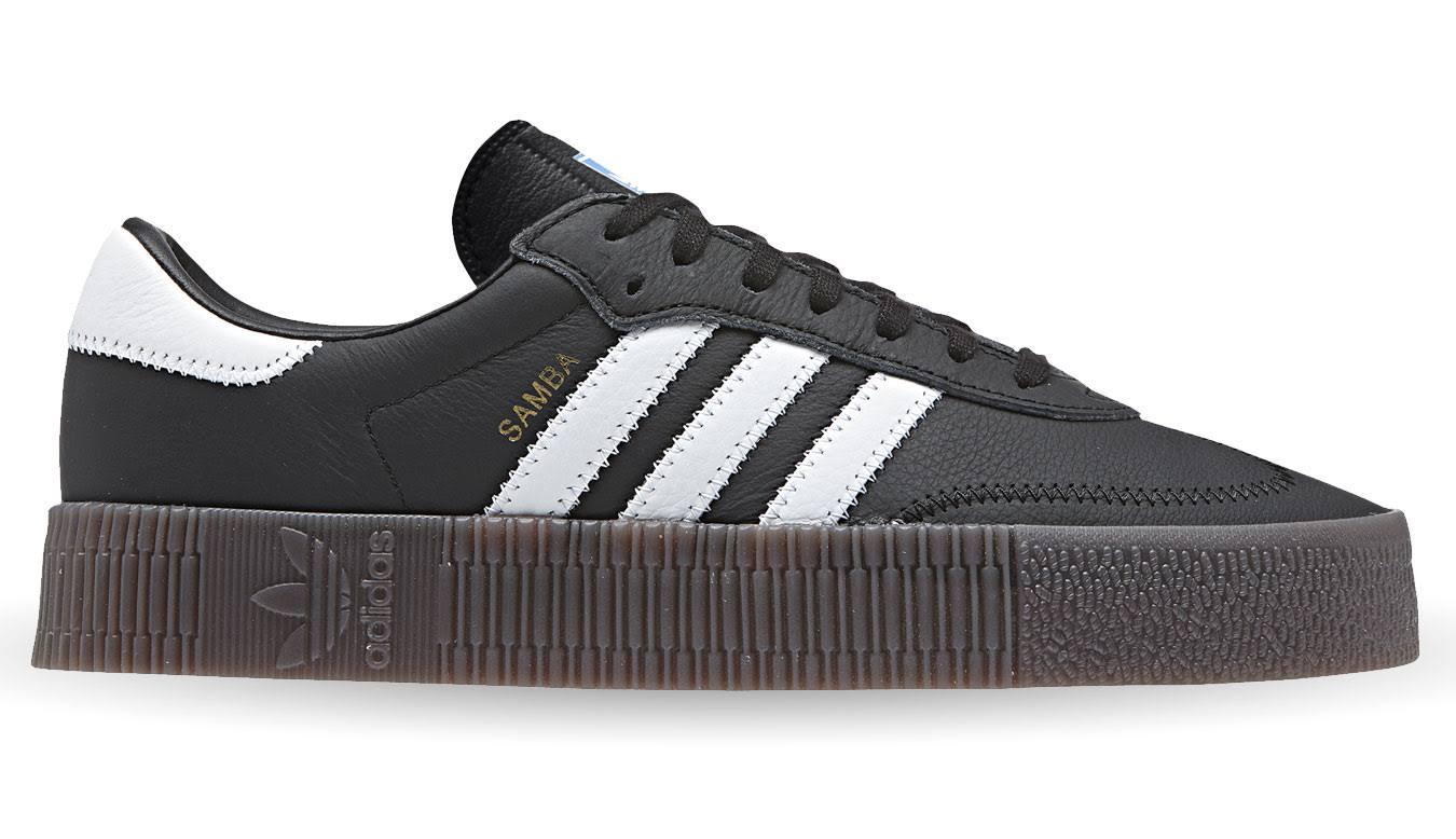 Originals DamesZwartDames Adidas Rose Samba Witzwart 76fgby