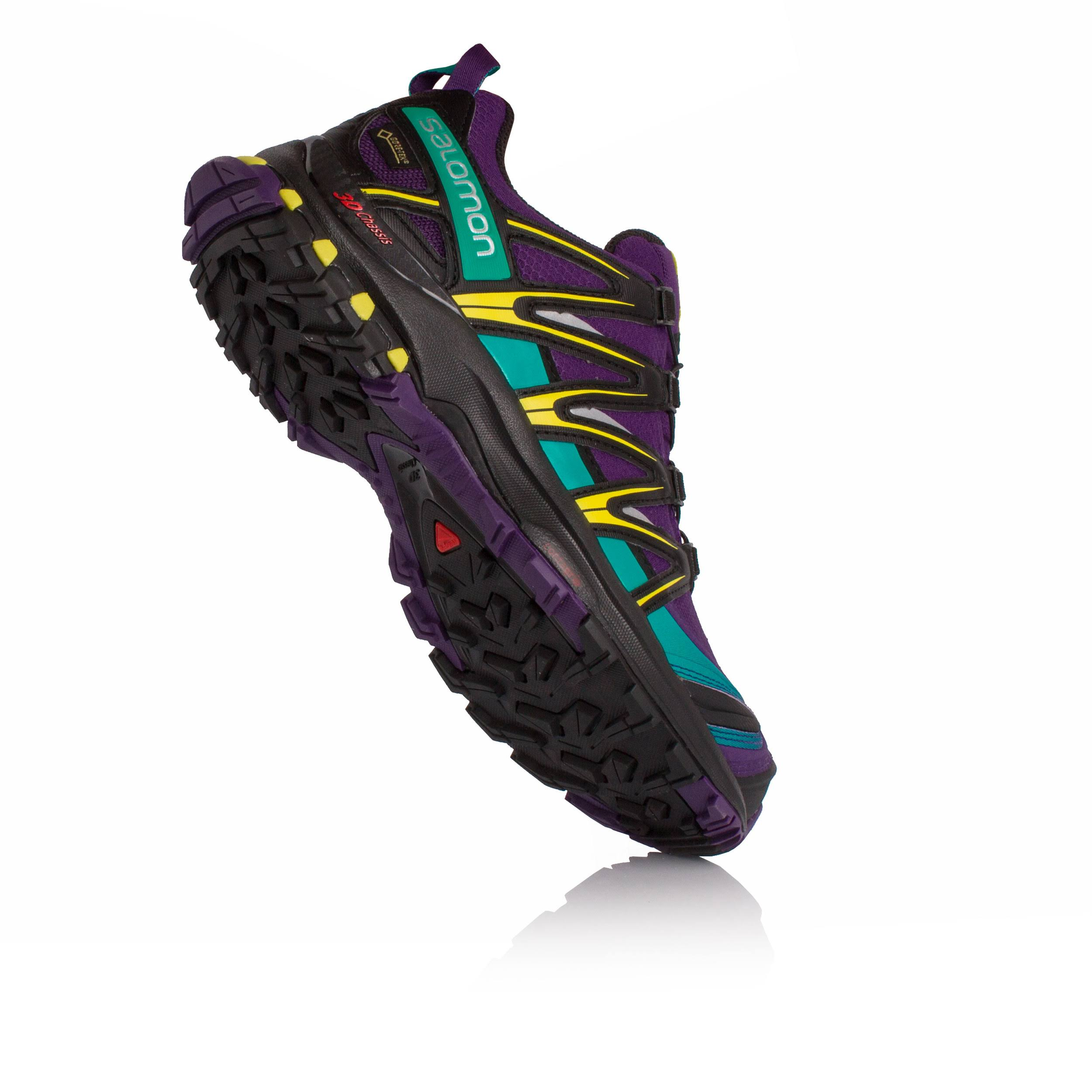 black Pro Salomon 3d dynasty Gore Shoe Purple Xa Women's Green tex A84wApq