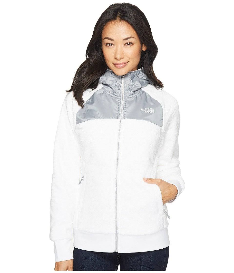 Fleecejacke Kapuze Oso The Tnf W4868216 Mit North Frauen Weiß Face Ttnfa