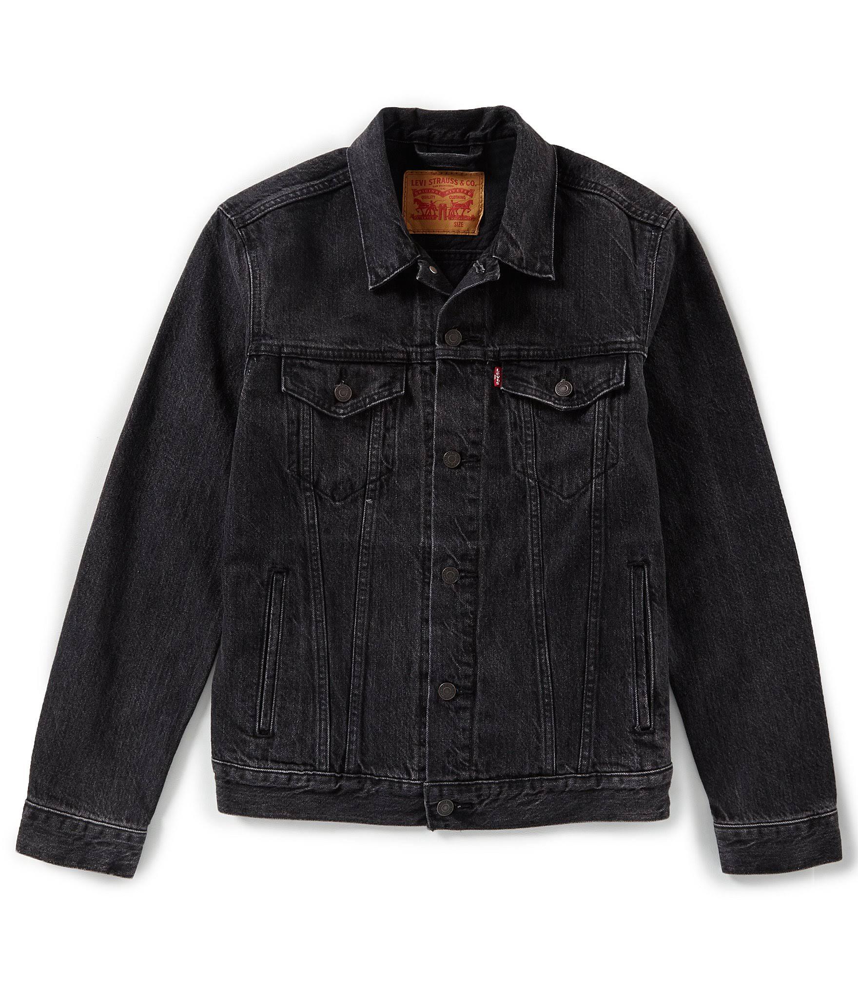 Jacket Herren Levi's Mens Panther Trucker Lg Mantel wqHvB