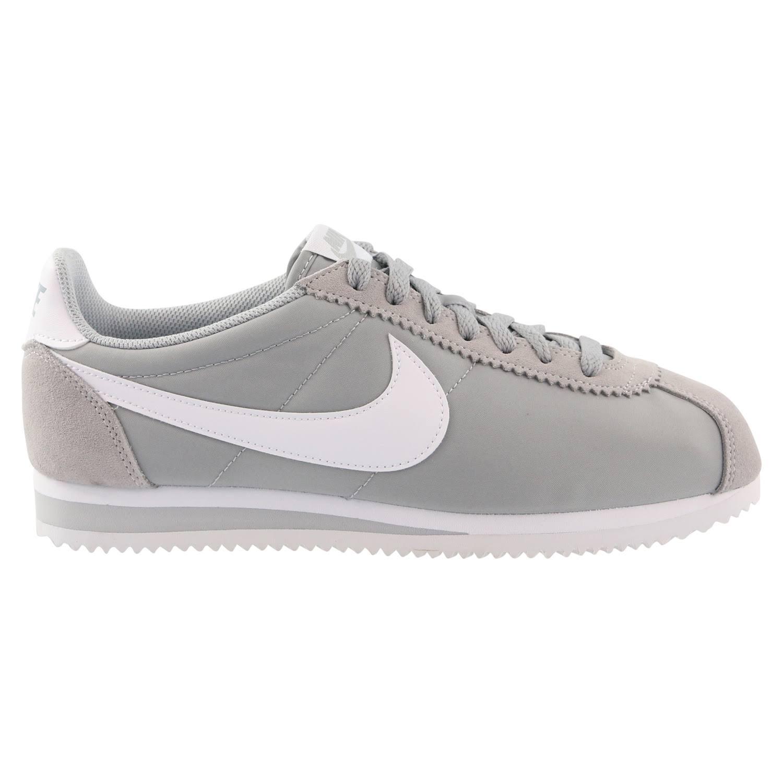 Grey Grau Nylon Herren Cortez Schuhe 10 wolf Classic Grau Weiß Nike Günstig Us Weiß Aza77x