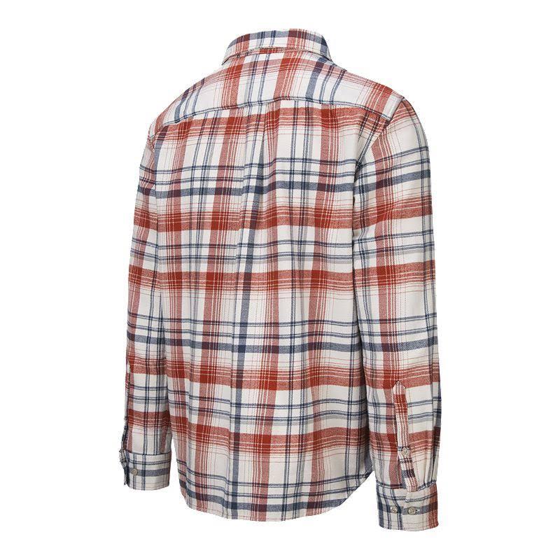 Manga Larga Face Flannel Vintage Plaid The Arroyo Para Camisa White De Hombre North UEwXZq5q