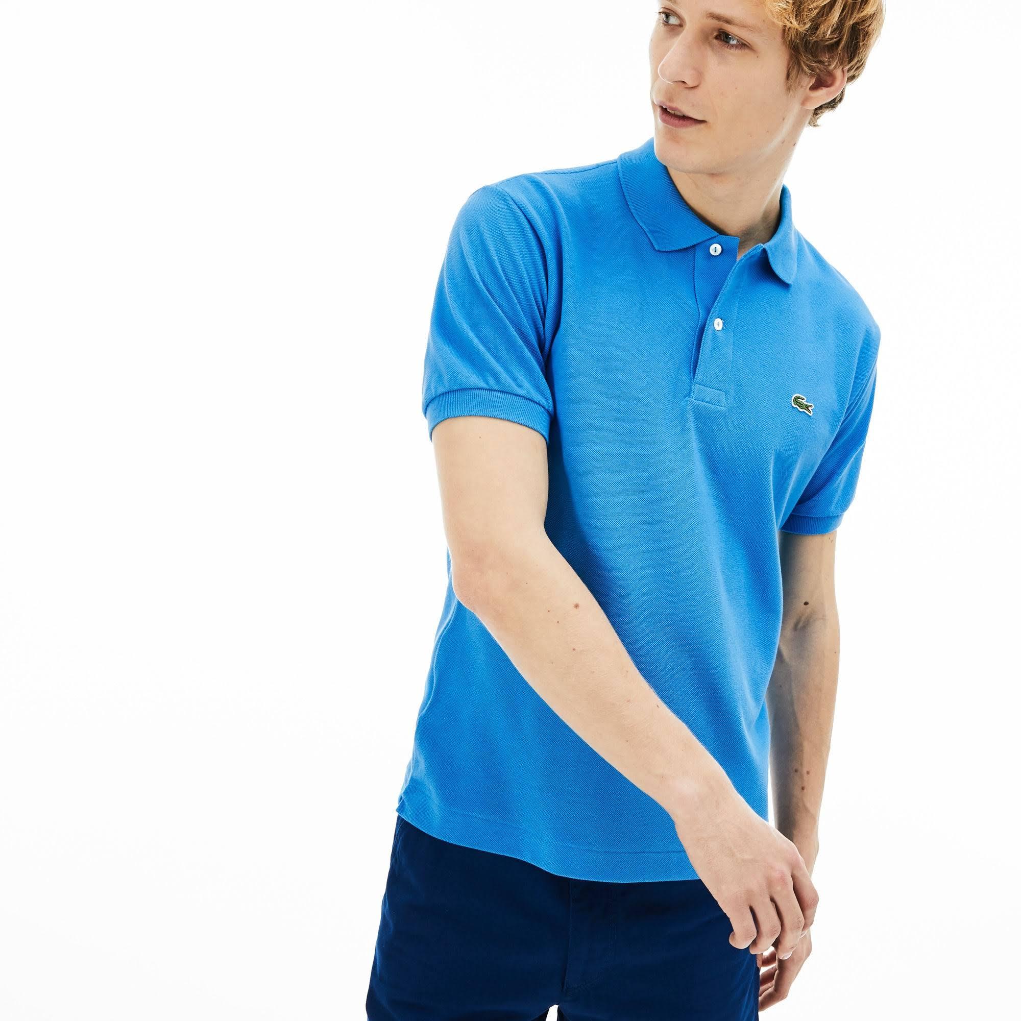Lacoste Polo Unicolor 10 12 L 12 5xl Azul S66qRHw