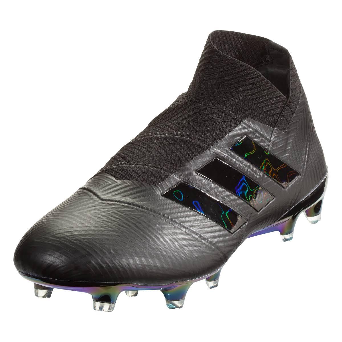 Superficies Core Negro Adidas Botines De Fg Fútbol 18 Para Blanco Nemeziz Firmes RUp1qS