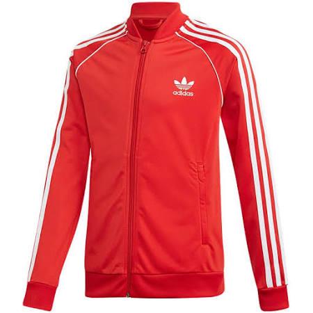Superstar Rot Originals Jacket Adidas Weiß Jungen Pxg6xnv