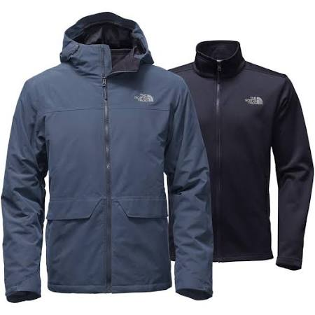 Jacket North Blue Herren Triclimate Canyonlands Die Face Hq0fA