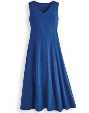 Femmes En Gaze Coton Bicolore Maxi Bleu Pour Blair L De 5ZqYxn7