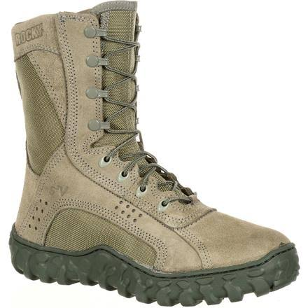 Shoes Fq0000103 Sp Rocky Military Bt 3 Commercial 2 1 8 Medium Blanco Opps PrRdRq