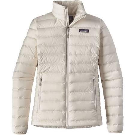 Sweater Jackets Patagonia M White Down Birch W's qg6nzwx8B