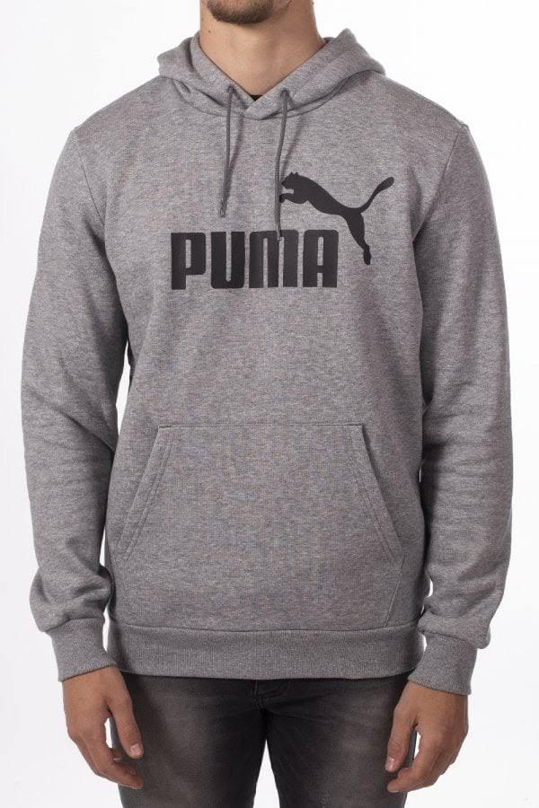Xl Puma Puma Logo HoodyGrigio Mens zVqSMGUp