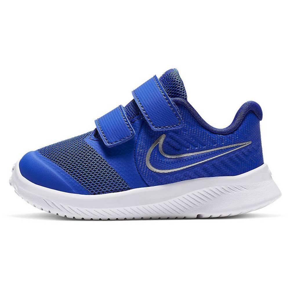 Nike Star Runner 2 Baby/Toddler Shoe - Royal/Silver