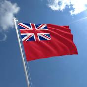 RED ENSIGN FLAG 5ft x 3ft