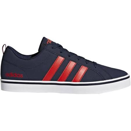 Adidas Vs Pace Trainers Navy/Red
