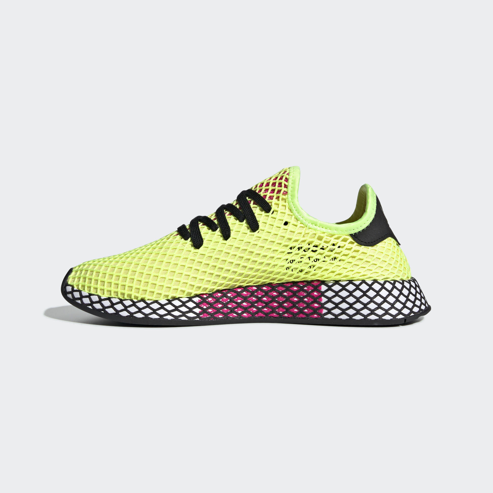 Кроссовки Yellow Black Adidas Core Deerupt Runner Pink res Hi Shock HPXAqXd