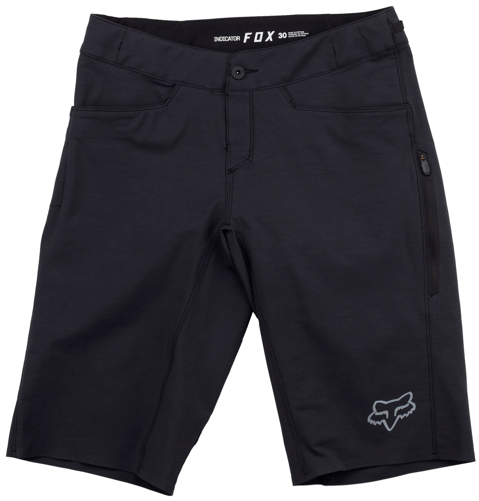 Racing Short Indicatore Fox Black QWErBCoexd