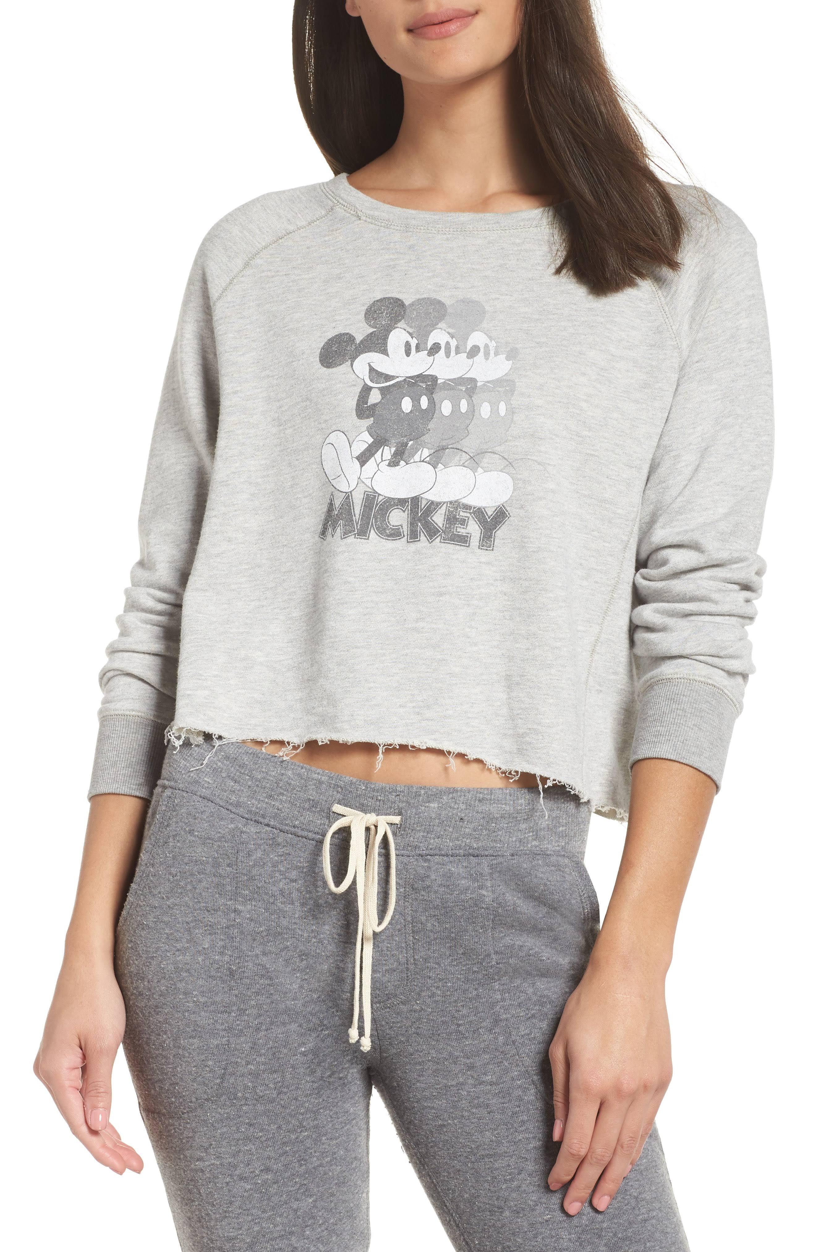 Grau Wiederholung Pullover Lerner Größe Damen Medium In Mouse David Mickey wxgCcPfpq