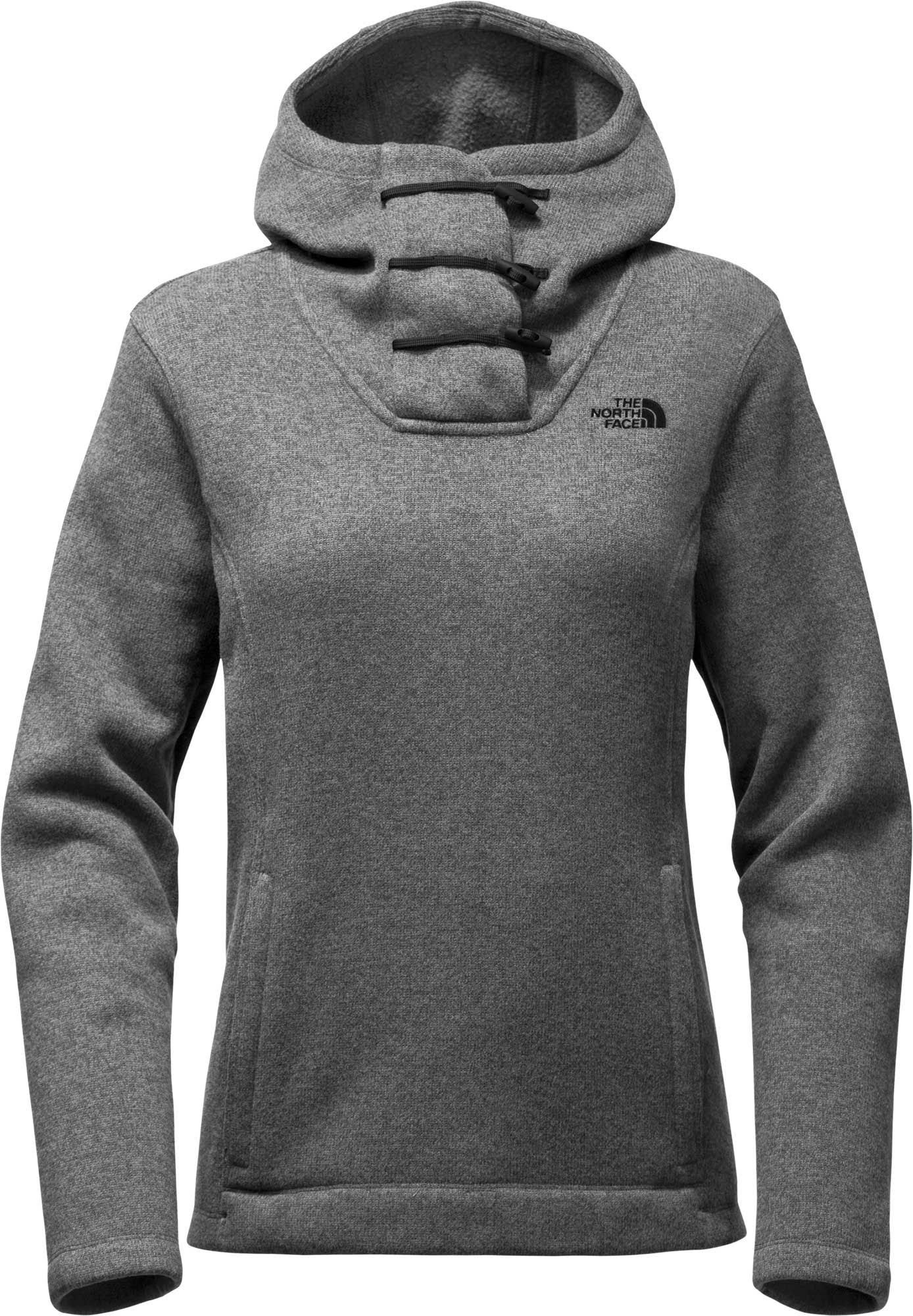 North Medium Crescent Hooded Tnf The Grey Heather da Pullover donnaxs Face 0OkXwP8n