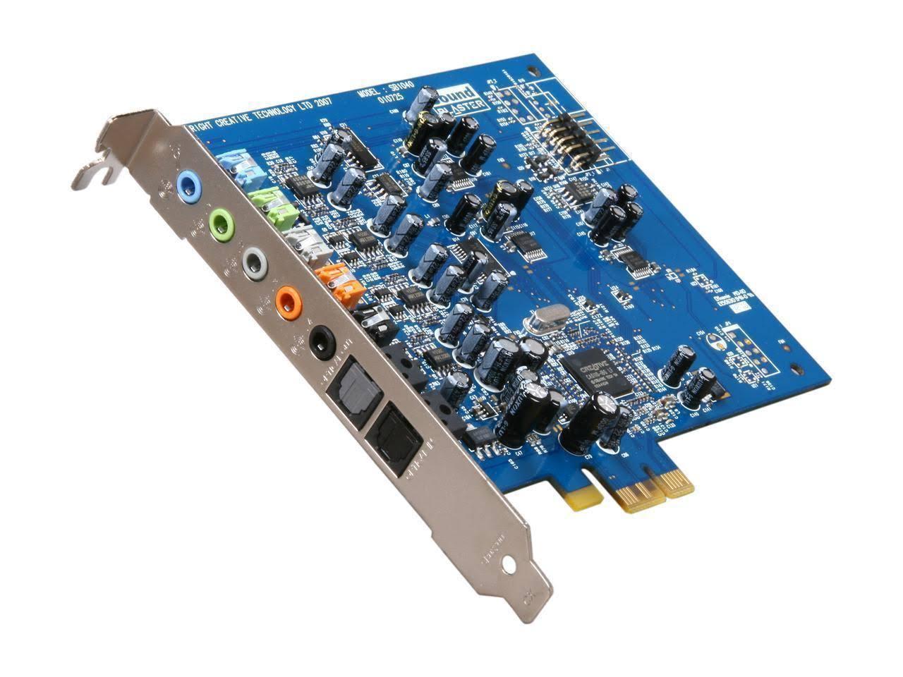 Creative Sound Blaster SB1040 X-Fi Xtreme Audio Card Dell P380K