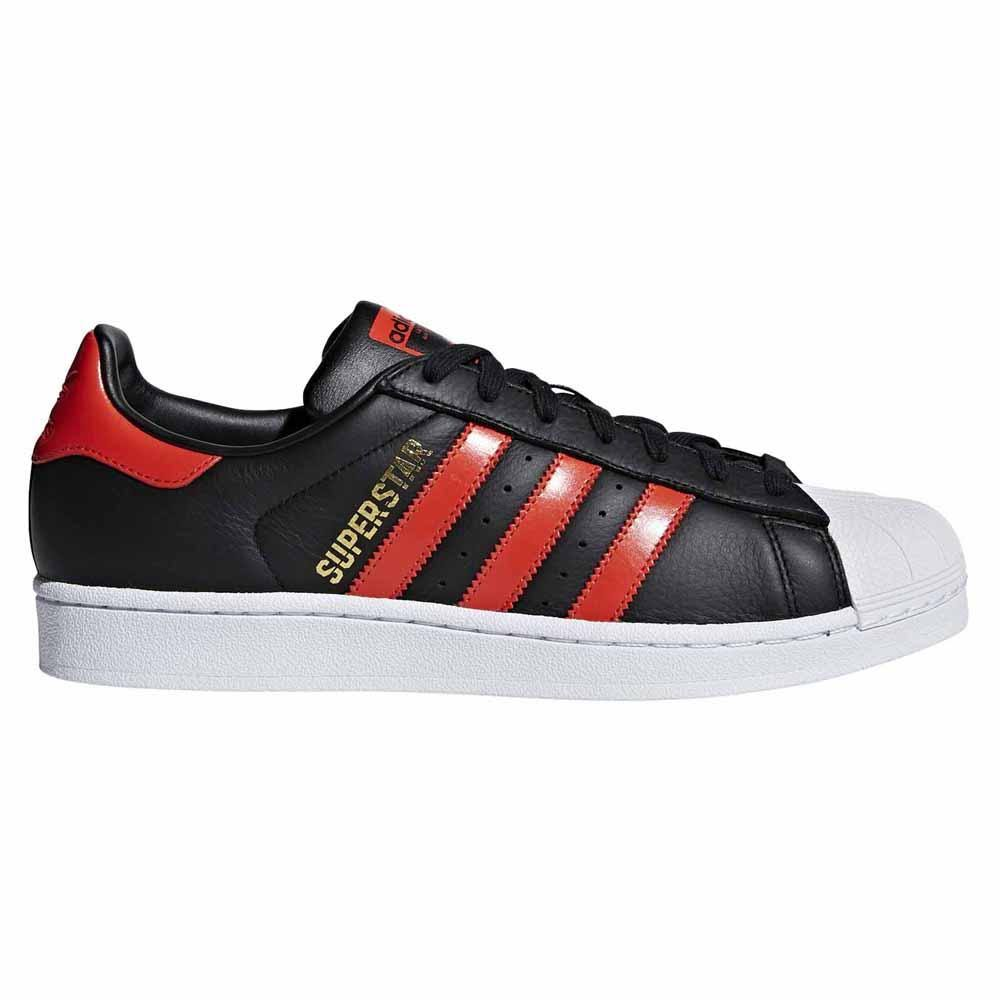 Adidas 44 ftwrwhite boldorange Coreblack 3 Eu 2 Originals Superstar 77xp4qwza