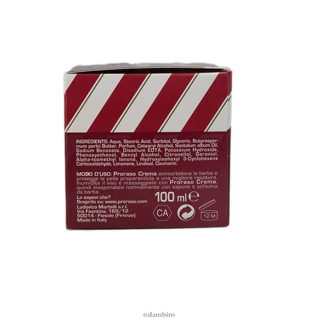 Proraso Crema Crema Pre Rasatura Pre Y6ybfI7vg